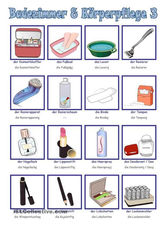 اسماء ادوات المطبخ بالالماني مع النطق d 8 تعلم اللغة الالمانية