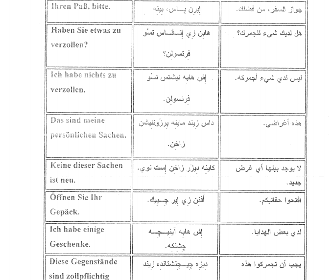 الالف جملة الاكثر استخداما في اللغة الالمانية