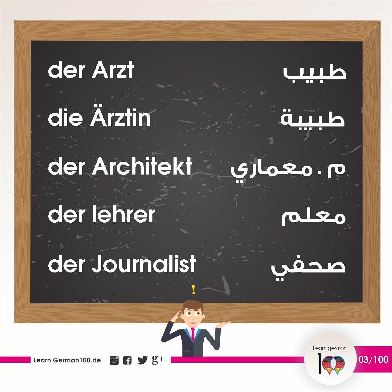تعلم اللغة الالمانية بالصور