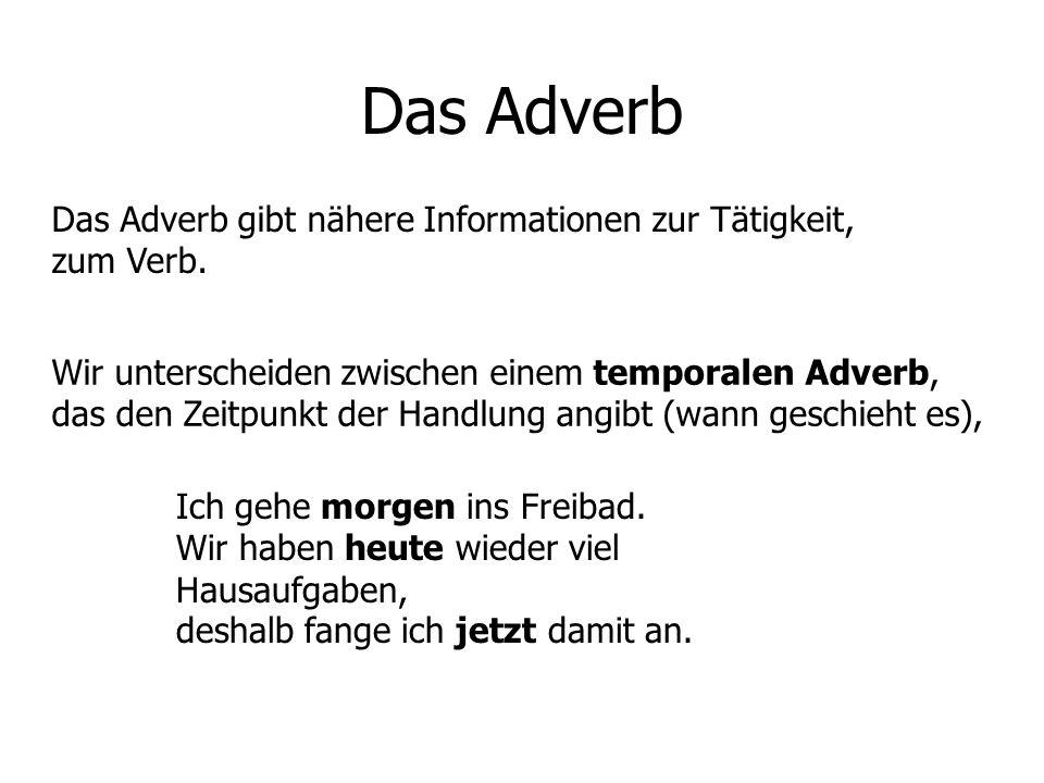 adverbien deutsch