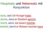 ادوات الربط في اللغة الالمانية – شرح و أمثلة