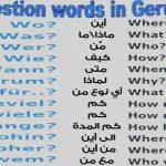 Übung _ Fragewörter