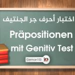 Präpositionen mit Genitiv Test